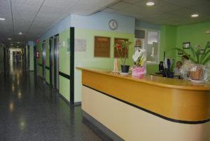 Área de hospitalización del H. Juan Ramón Jiménez