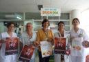 El Hospital Juan Ramón Jiménez sensibiliza a la población onubense para dejar de fumar en el día mundial sin tabaco