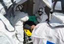 El Hospital Juan Ramón Jiménez realiza un simulacro de atención a víctimas procedentes de una catástrofe tecnológica