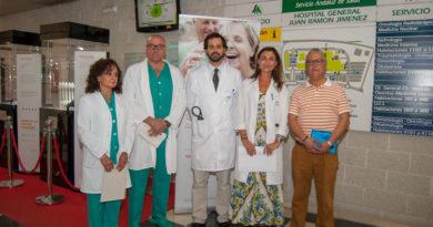 El Hospital Juan Ramón Jiménez acoge el museo de los objetos cotidianos para concienciar sobre la insuficiencia cardíaca