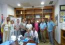 El Hospital Juan Ramón Jiménez acoge el primer taller nacional de cosmética masculina de la Fundación Stanpa