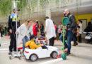 La Policía Local de Huelva visita a los menores de la Unidad de Pediatría del Hospital Juan Ramón Jiménez