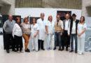 El Hospital Juan Ramón Jiménez acoge la primera exposición nacional itinerante 'Héroes y Heroínas' sobre ostomía
