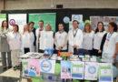 El Hospital Juan Ramón Jiménez, Huelva Diabetes y el Colegio de Podólogos se suman al círculo azul de la diabetes
